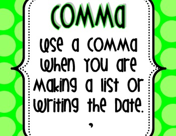 Punctuation Signs!