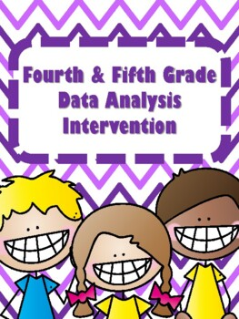 NEW  4th & 5th Grade Data Analysis Intervention (16 DAYS)