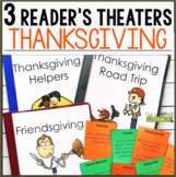 NEW Resource: 3 Thanksgiving Reader's Theaters