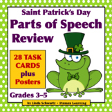 SAINT PATRICK'S DAY PARTS OF SPEECH REVIEW • Grades 3–5