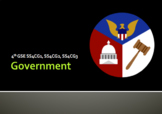 NEW SS4GC1 SS4GC2 SS4GC3 Government GSE 2018 Unit *Perfect for GoogleClassroom