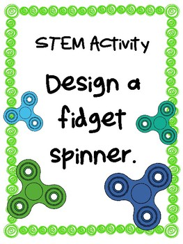NEW  STEM Fidget Spinners Activity with Lego blocks