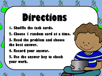 NEW  Science Safety and Tools Task Cards