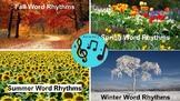 Seasonal Word Rhythms BUNDLE