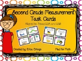 NEW! Second Grade Measurement Task Cards 2.9A 2.9B