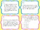NEW Solving Multi Step Problems with Variables Task Cards 5.4B 6.EE.B.6 6.EE.B.7