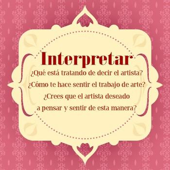 Spanish Art Critique Posters