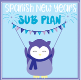Spanish New Year Substitute Packet - sub plan