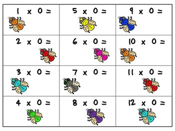 NEW  Swat-A-Fly Multiplication Game IMPROVE MULTIPLICATION FACT FLUENCY