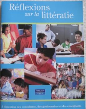 TEACHER LITERACY RESOURCE in French Réflexions sur la littératie (Incl ship) NEW
