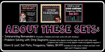 STAAR Math Task Cards
