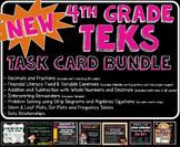 MATH TEST PREP: Math Task Card Bundle STAAR Aligned