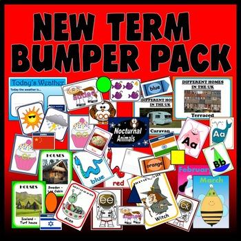 NEW TERM Primary classroom teaching resources display ks1