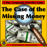 NEW! THE CASE OF THE MISSING MONEY • STATE CAPITALS/MAP READING
