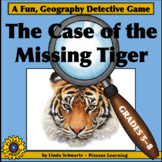 NEW! THE CASE OF THE MISSING TIGER • CAPITALS OF THE WORLD