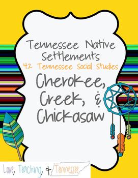 NEW Tennessee Social St. - Cherokee, Creek, Chickasaw 4.2