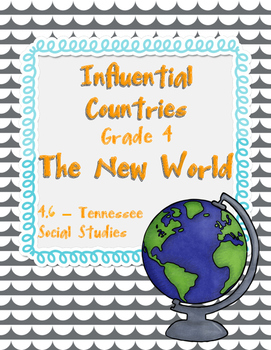 NEW Tennessee Social Studies - Country Graphic Organizer 4.6