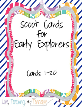 NEW Tennessee Social Studies Early Explorers (4.4)