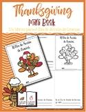 NEW! Thanksgiving Mini book - un librito para el Día de Ac