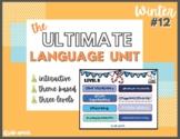 NEW!! Ultimate Language Unit- Winter