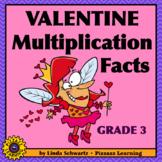 NEW! VALENTINE MULTIPLICATION FACTS • GRADE 3