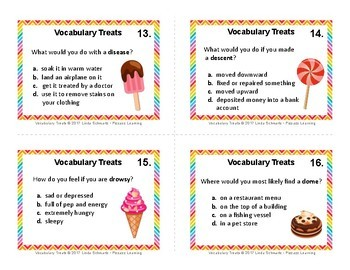 VOCABULARY TREATS • GRADES 3–5