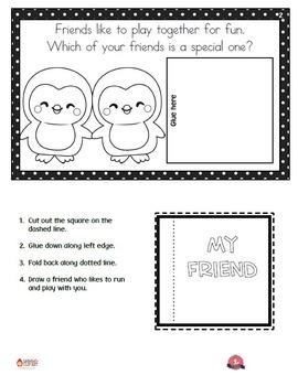 Valentine's Interactive Reader - Friends