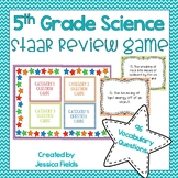 5th Grade Science STAAR Review Game! Vocabulary Edition