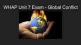 NEW!! WHAP 2020 Unit 7 Exam M/C 50 Questions