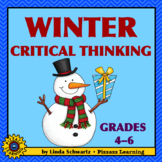 NEW! WINTER CRITICAL THINKING • ODD WORD OUT