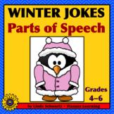 WINTER JOKES • PARTS OF SPEECH REVIEW
