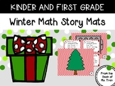 NEW  Winter Math Story Mats USE SMALL HOLIDAY ERASERS