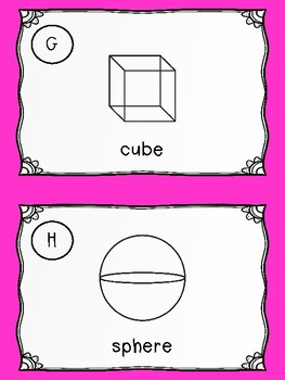 NEW  Write the Room in Math: Geometry 2-D Figures and 3-D Solids