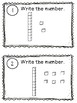 NEW  Write the Room in Math: Place Value 1-100