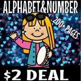 NEW YEAR  2018 ALPHABET AND NUMBER BUNDLE (FOR 48 HOURS ONLY)