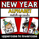 NEW YEAR ACTIVITIES 2019 KINDERGARTEN (LETTER MATCHING UPPERCASE AND LOWERCASE)
