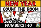 NEW YEAR 2018 ACTIVITIES KINDERGARTEN (COUNT THE ROOM NUMBERS 1-10)