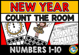 NEW YEAR COUNT THE ROOM (NUMBERS 1-10)