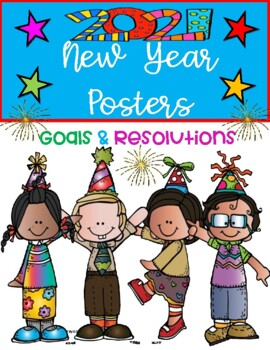 NEW YEAR  POSTERS { DOLLAR DEAL! }