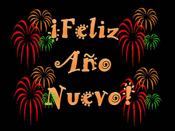 NEW YEAR:  ¡Feliz 2018!-- First Day Back Activities for Intermediate Spanish