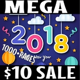 NEW YEARS 2018 MEGA LITERACY SALE( 48  HOURS ONLY)