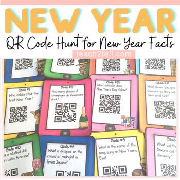 NEW YEAR: NEW YEAR {QR CODE HUNT}