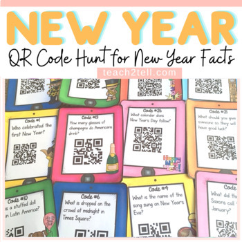 NEW YEAR: NEW YEAR {QR CODE HUNT}