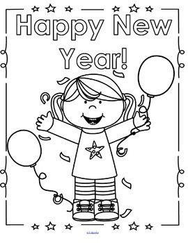 NEW YEAR Centers and Activities for Preschool and Pre-K by ...