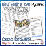 CLOSE READING PASSAGES NEW YEAR'S MYSTERIES FOR READING COMPREHENSION PRACTICE