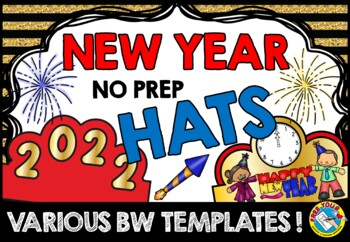 NEW YEAR 2018 ACTIVITIES (NEW YEARS CRAFTS CROWNS OR HATS)
