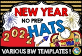 NEW YEAR ACTIVITIES 2019 CRAFT CROWN OR HATS