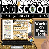 NEW YEARS 2019 / 2018 GOOGLE SLIDES DIGITAL SCOOT