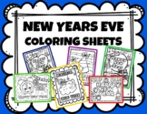 NEW YEARS EVE COLORING SHEETS BUNDLE!