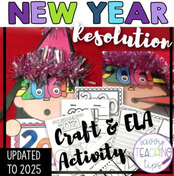 2018 NEW YEARS GOALS CRAFTIVITY AND ELA PACK